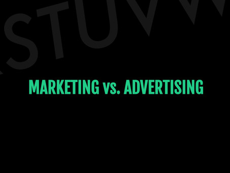 So...What's the Difference Between Marketing and Advertising?