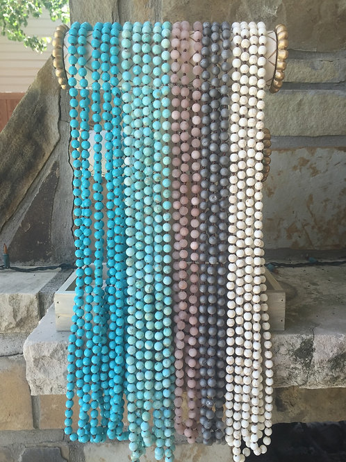 Single Wrap Beaded Necklaces