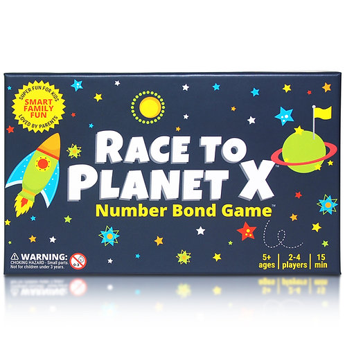 Race to Planet X - Number Bond Game