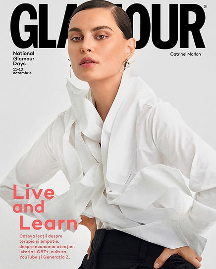 Glamour Romania Autumn Issue Cover 2019.