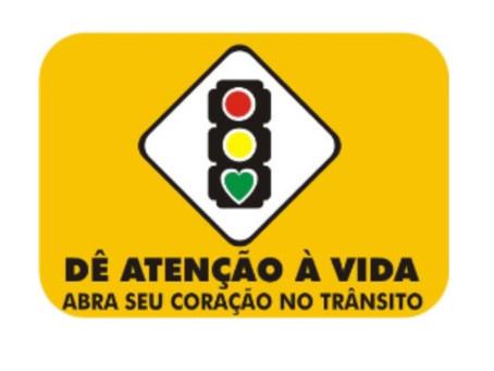 SEMANA NACIONAL DE TRÂNSITO 2020  De 18 a 25 de setembro