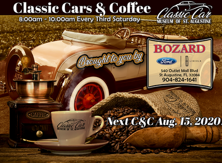 Cars & Coffee - Aug. 15th