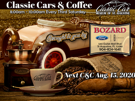 Cars & Coffee - Aug. 15th