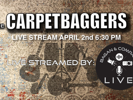 The Carpetbaggers on FB LIVE!