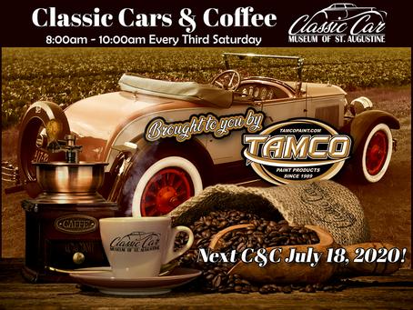 Next Cars & Coffee ~ July 18th!