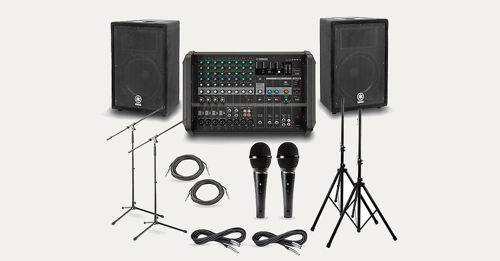 P/A equipment