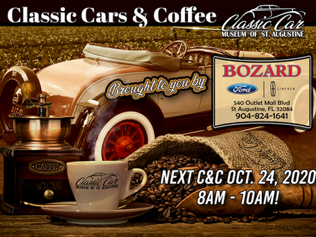 The Next Cars & Coffee is October 24th!