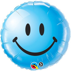 "Smile blue 18"" / 5€"