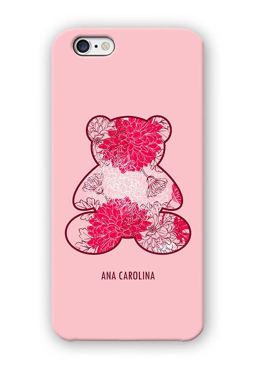 CAPINHA TEDDY RED & ROSE