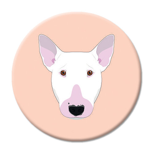 LOVE SOCKET BULL TERRIER