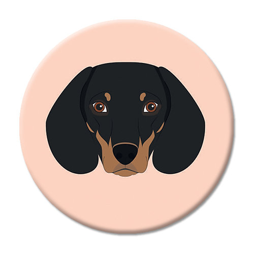 LOVE SOCKET DACHSHUND