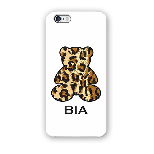 CAPINHA TEDDY ANIMAL PRINT BRANCA