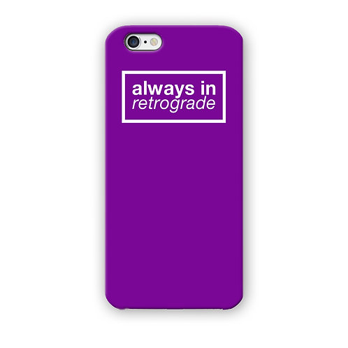 CAPINHA ALWAYS RETROGRADE