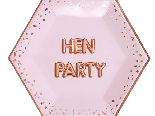 Hen Party Pabertaldrikud