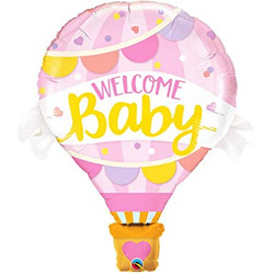 Welcome baby pink 8€