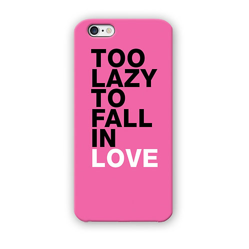 CAPINHA TOO LAZY TO FALL IN LOVE