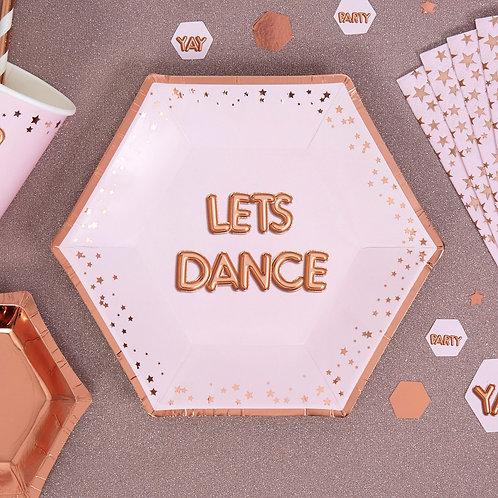 Lets Dance, pabertaldrikud