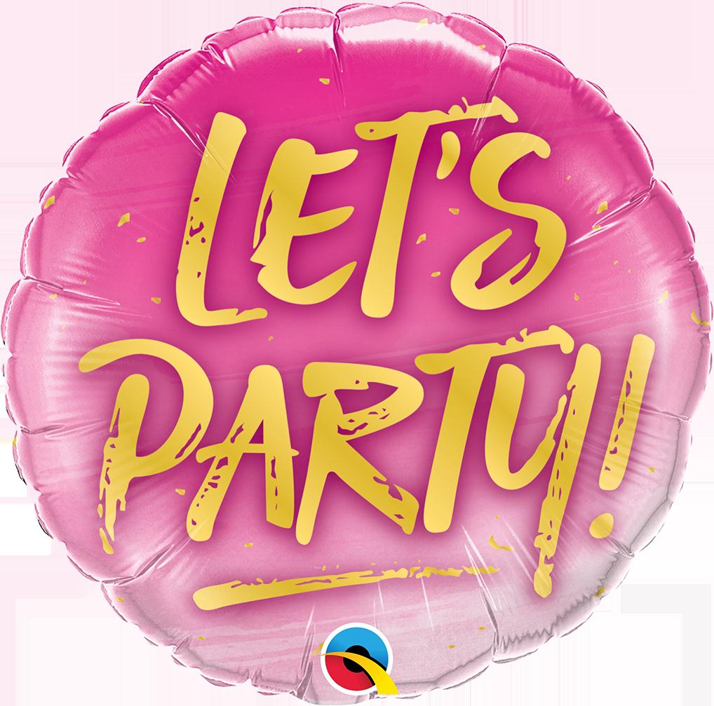 "Lets party 18"" / 5€"