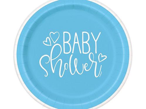 Baby shower pabertaldrikud