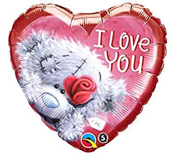 "Heart 18"" bear / 5€"