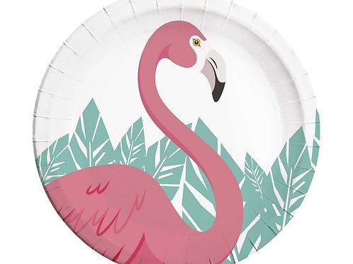 Flamingot pabertaldrikud