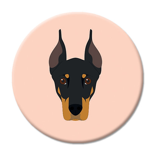 LOVE SOCKET DOBERMAN