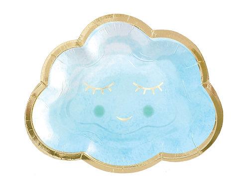 Pilvekujuline pabertaldrikud