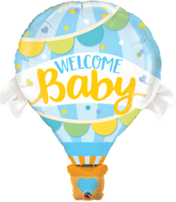 Welcome baby blue 8€