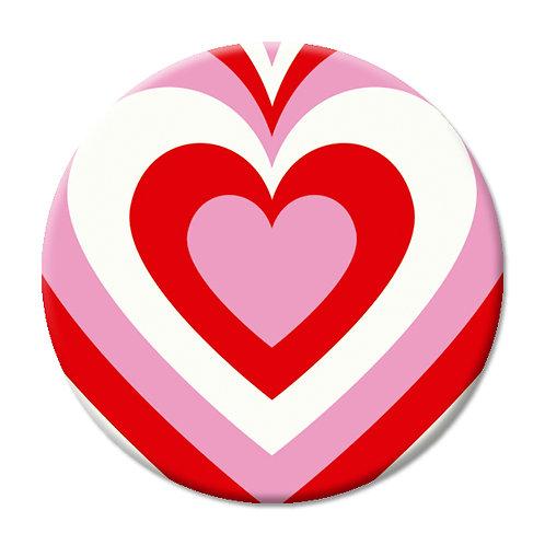 LOVE SOCKET KALEIDOSCOPE HEART