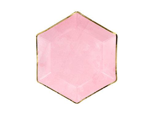 Pink pabertaldrikud