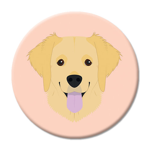 LOVE SOCKET GOLDEN RETRIEVER