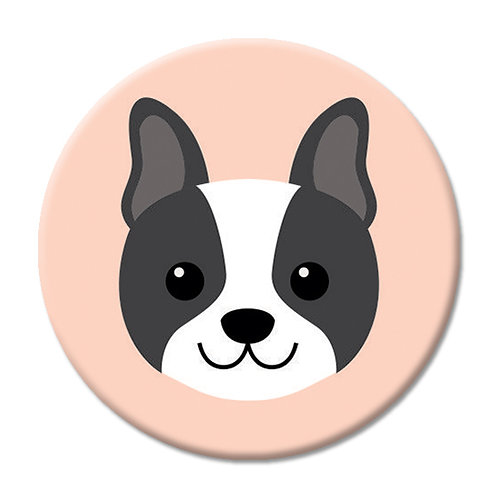 LOVE SOCKET BOSTON TERRIER