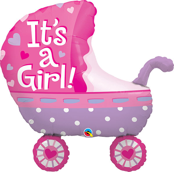 Stroller pink QL 8€