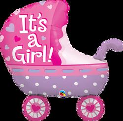 Stroller pink QL 10€