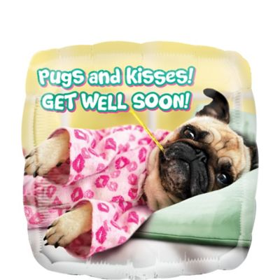 "Get well dog 20"" / 4€"