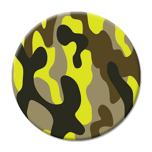 LOVE SOCKET ARMY YELLOW