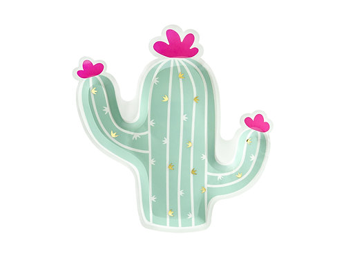 Kaktuse Pabertaldrikud