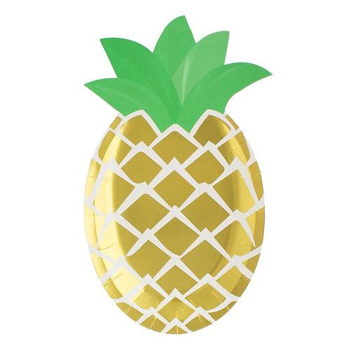 Ananass pabertaldrikud