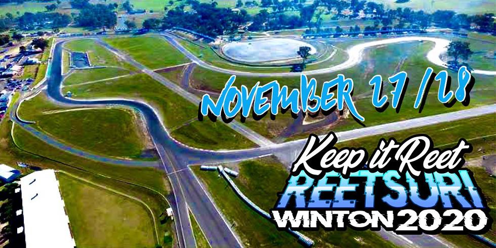 Winton Reetsuri Nov 27/28th