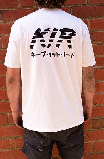 KiR Sunset White Tee