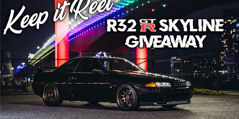 POSTER PACKS + R32 GTR GIVEAWAY DOUBLE ENTRIES
