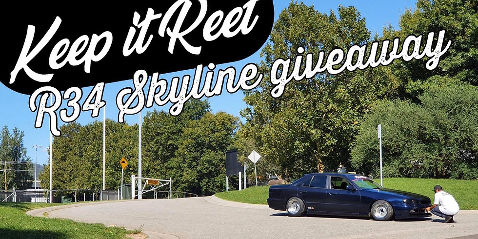 R34 Skyline GIVEAWAY