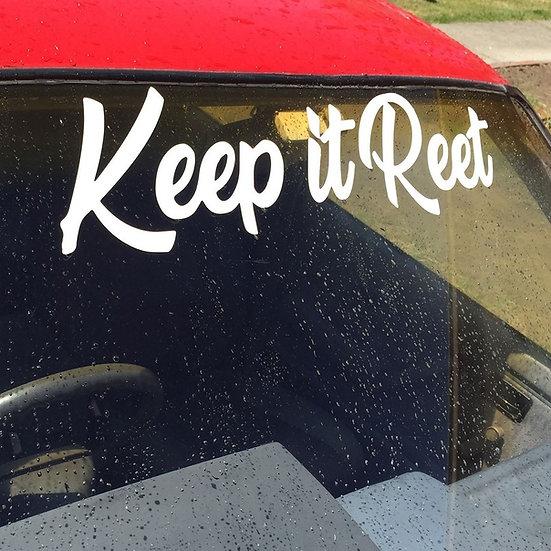 KiR Large Window Sticker
