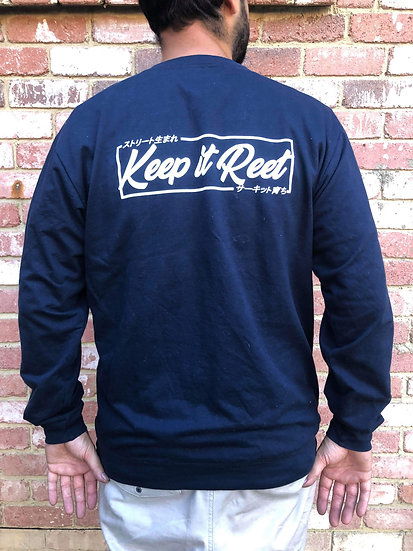 Limited Navy Sweater