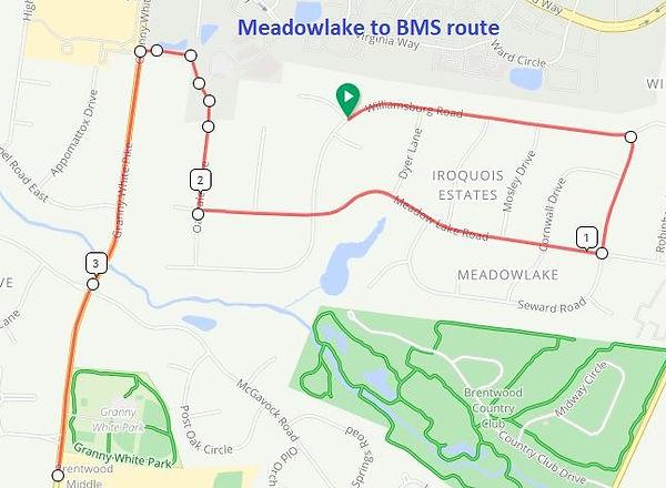 Route 1 - Meadowlake base.JPG