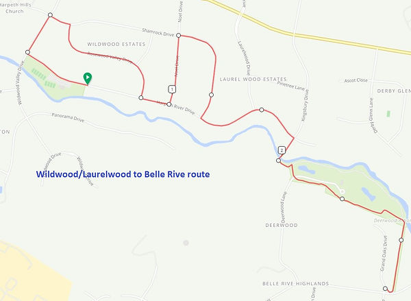 Route 2 - Wildwood to Belle Rive base.JP