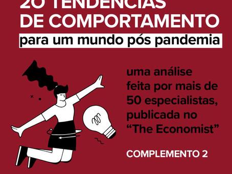 AS 20 TENDÊNCIAS DE COMPORTAMENTO.
