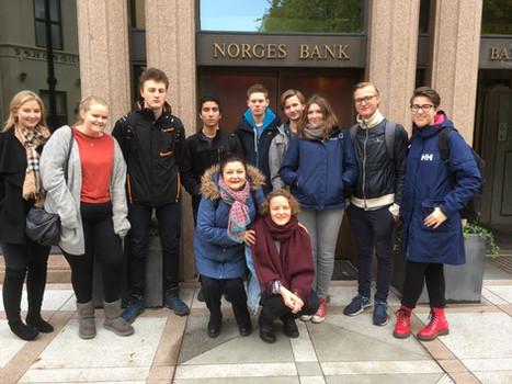 3IB - Economics trip to Norges Bank