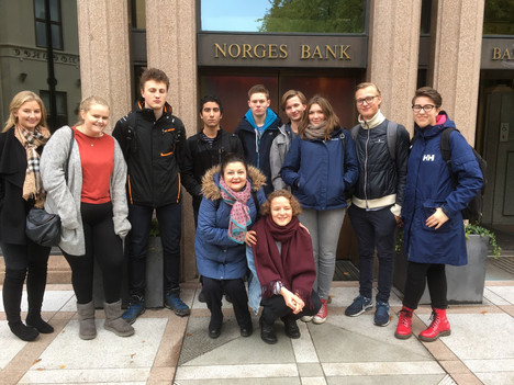 3IB - Economics trip to Norges Bank