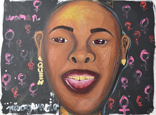 Misogynoir Revisited 30 x 40